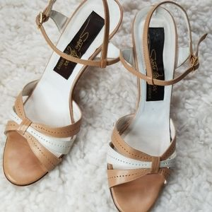 Sesto Meucci 7AA Leather Strappy Sandals